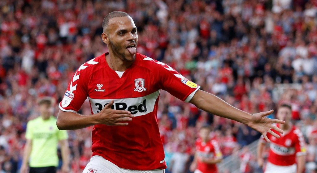 'Boro forward Martin Braithwaite responds classically to Social Media criticism'