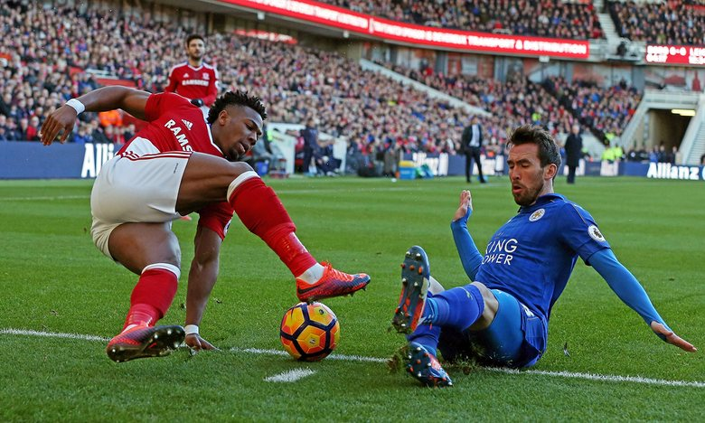 Boro v Leicester City Report