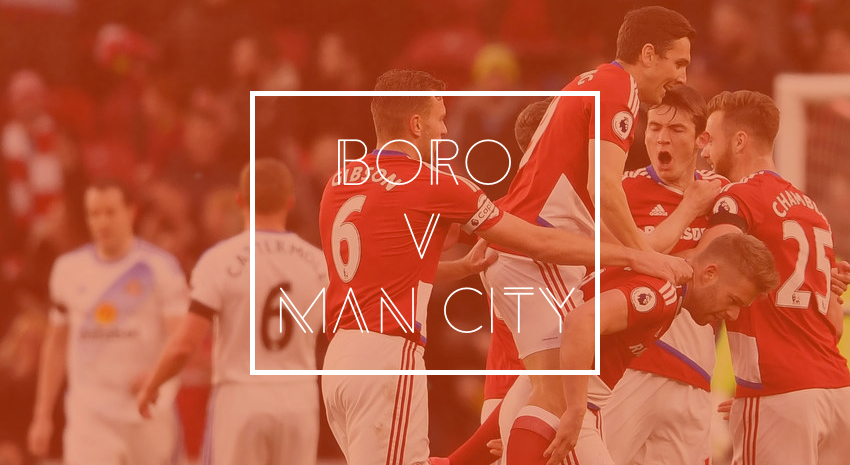 'Boro v Manchester City - Opposition Preview'