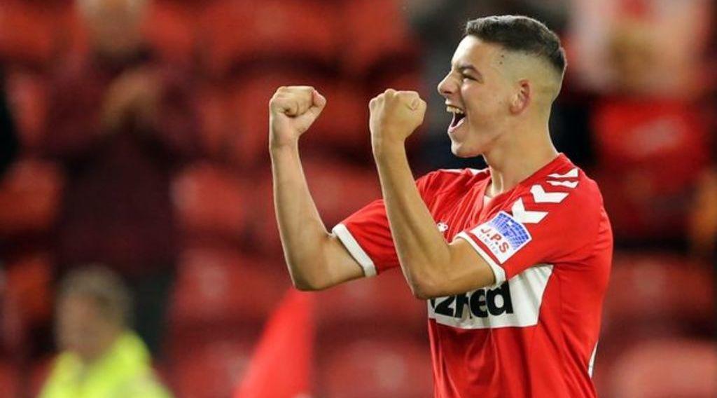 Boro academy graduate eager to break into the first team next season