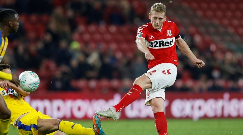 Boro midfielder set for Millwall switch