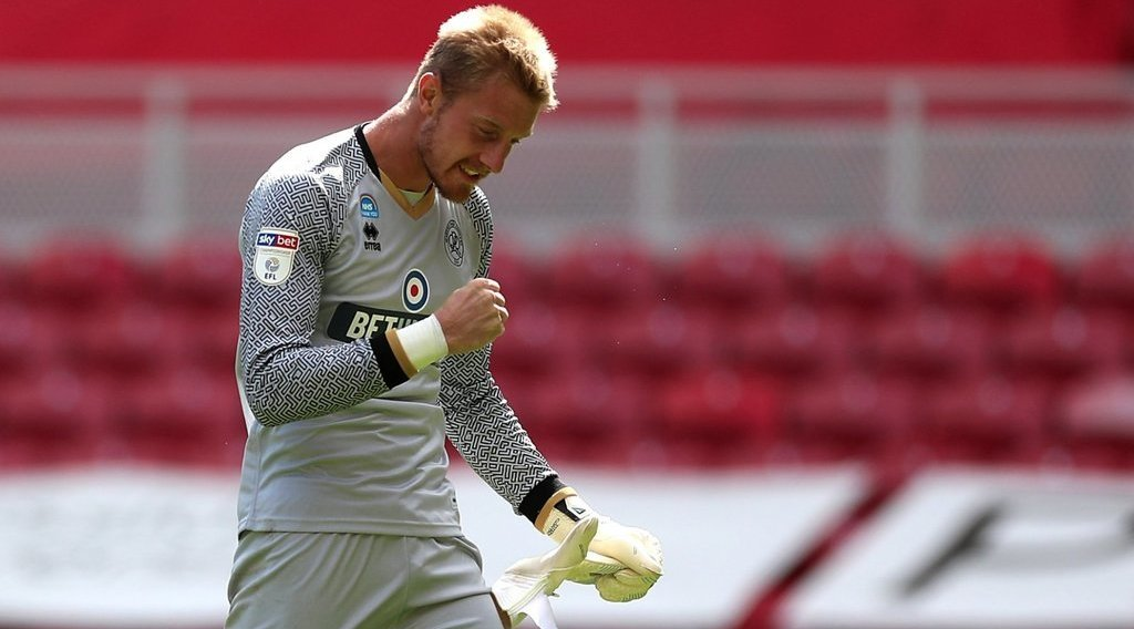 Boro sign Joe Lumley on a two year deal
