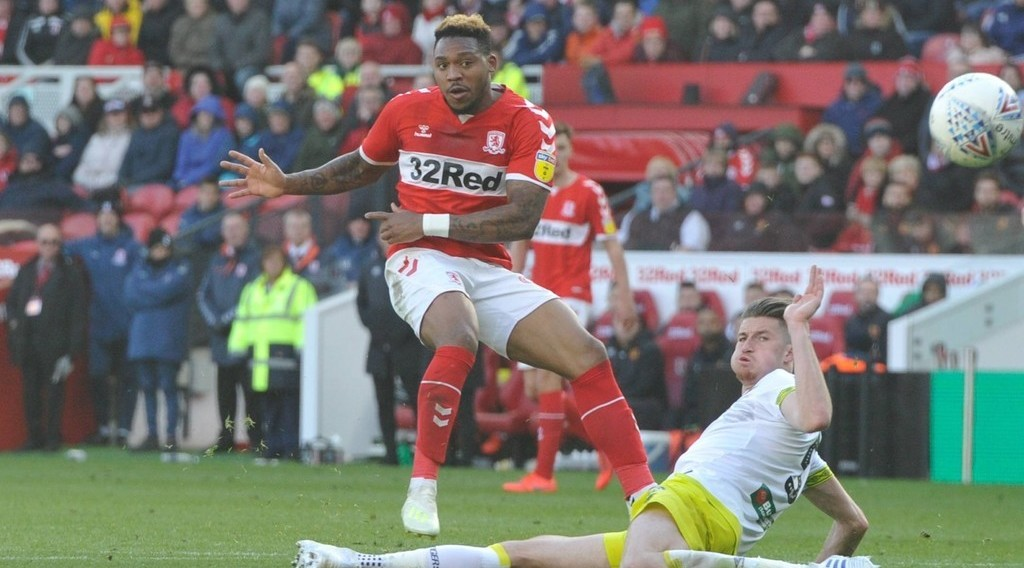 'Britt Assombalonga winner keeps Boro's play-off hopes alive'