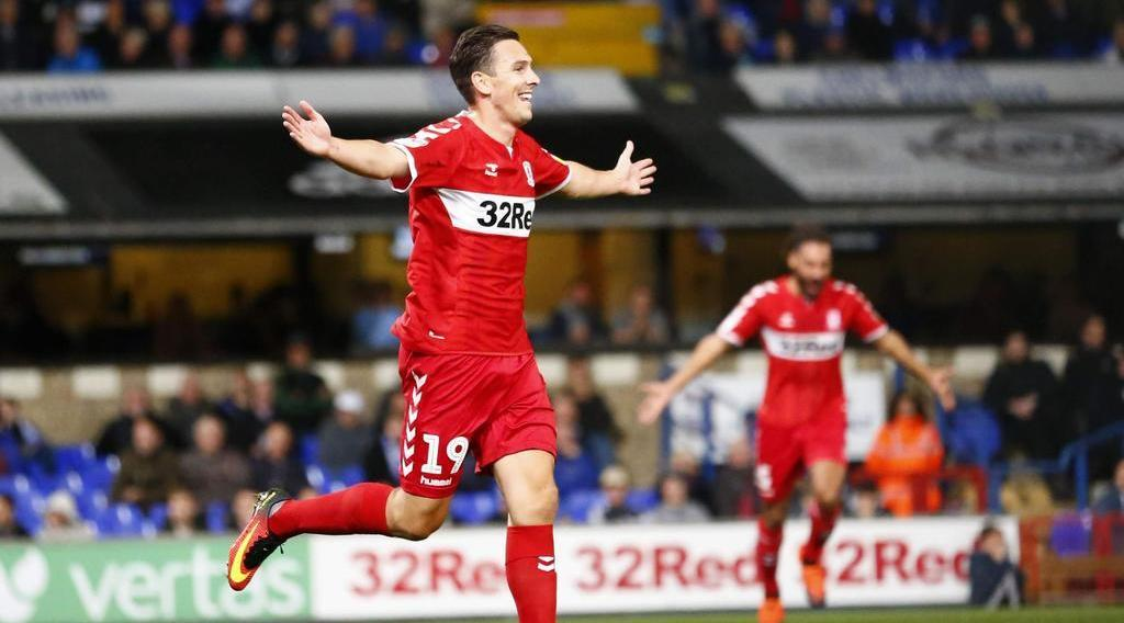 'Downing set to start tonight as Boro host Bristol City'