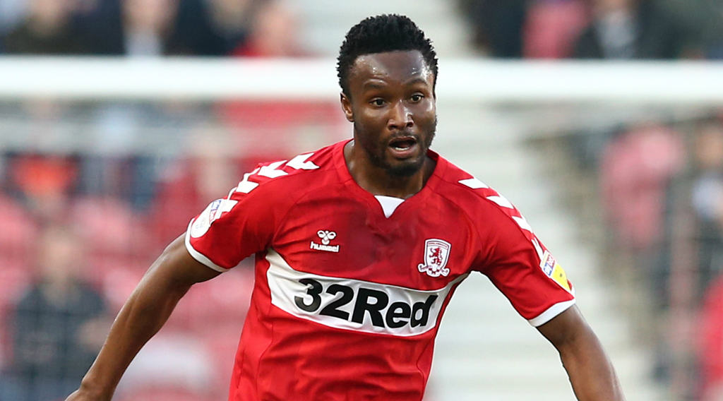 'John Obi Mikel explains reason behind Boro's poor run of form'