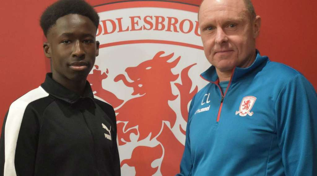 Middlesbrough complete signing of highly-rated teenage defender