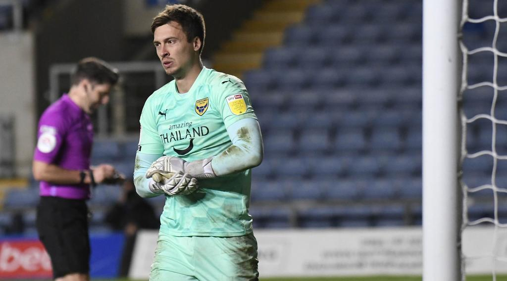 Oxford United manager wants keeper to stay despite Championship interest