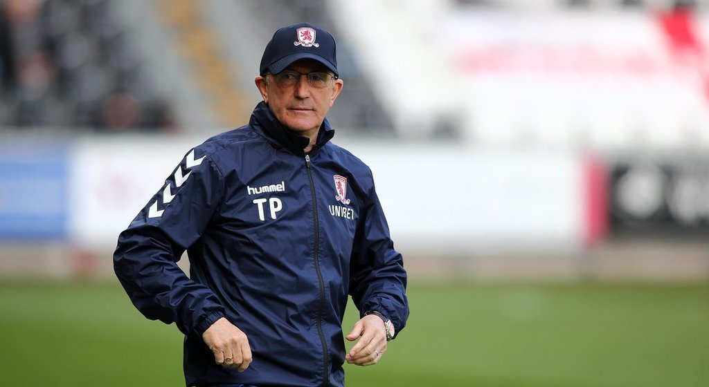'Tony Pulis set to leave Middlesbrough after receiving no contract extension offer'