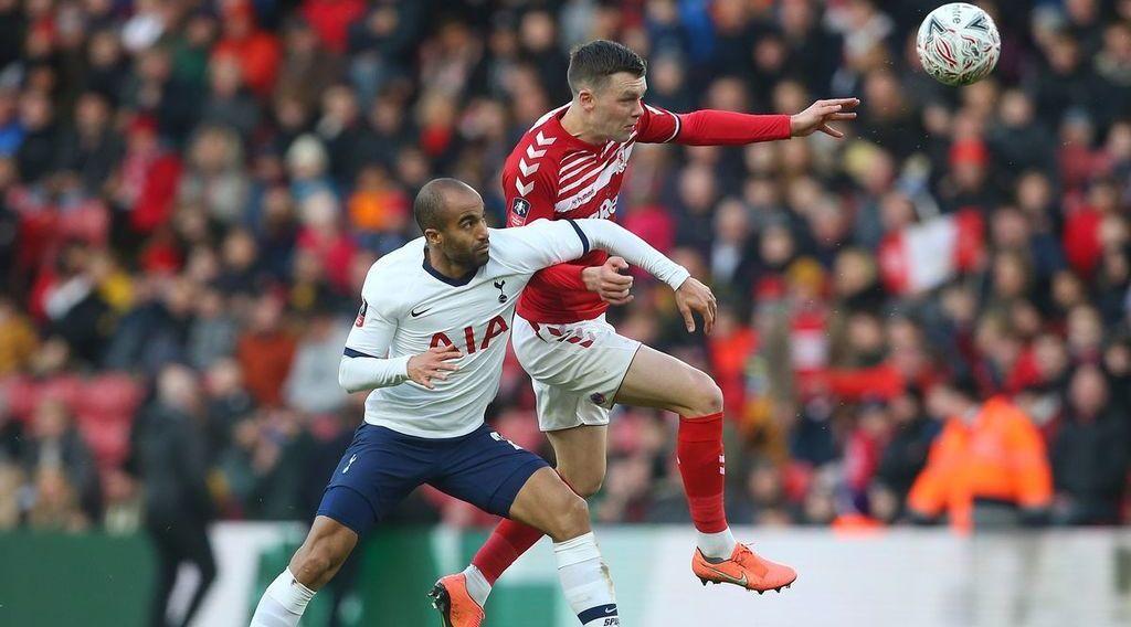 Tottenham 2-1 Middlesbrough: Spirited Boro fall to narrow defeat