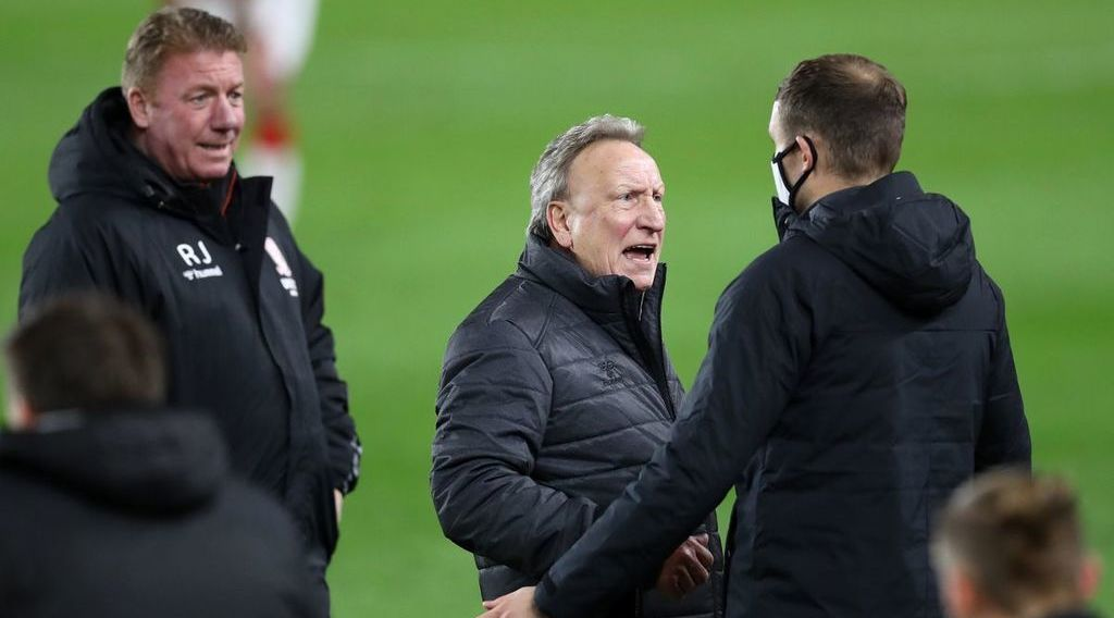 Warnock left questioning referee decisions