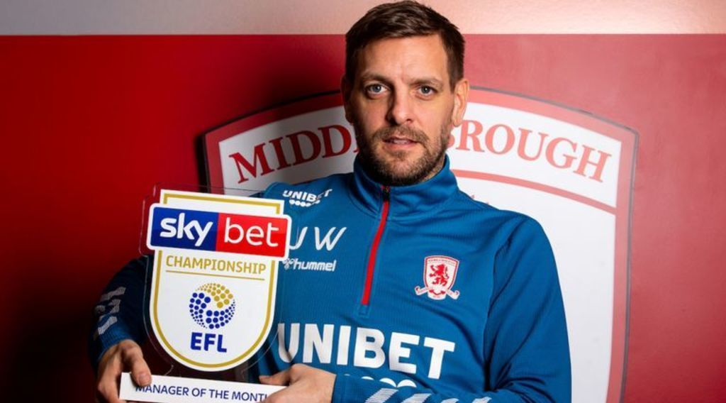 Woodgate wins Manager of the Month Award
