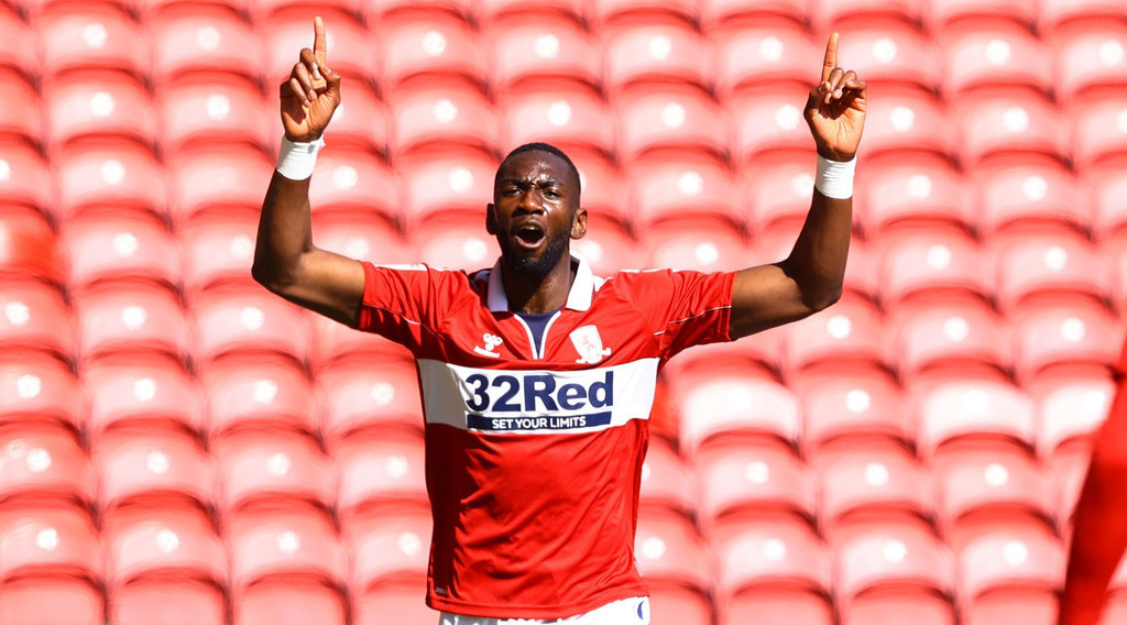 Yannick Bolasie sends message to Middlesbrough fans