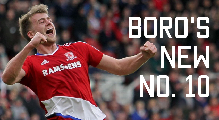 Boro's new No.10