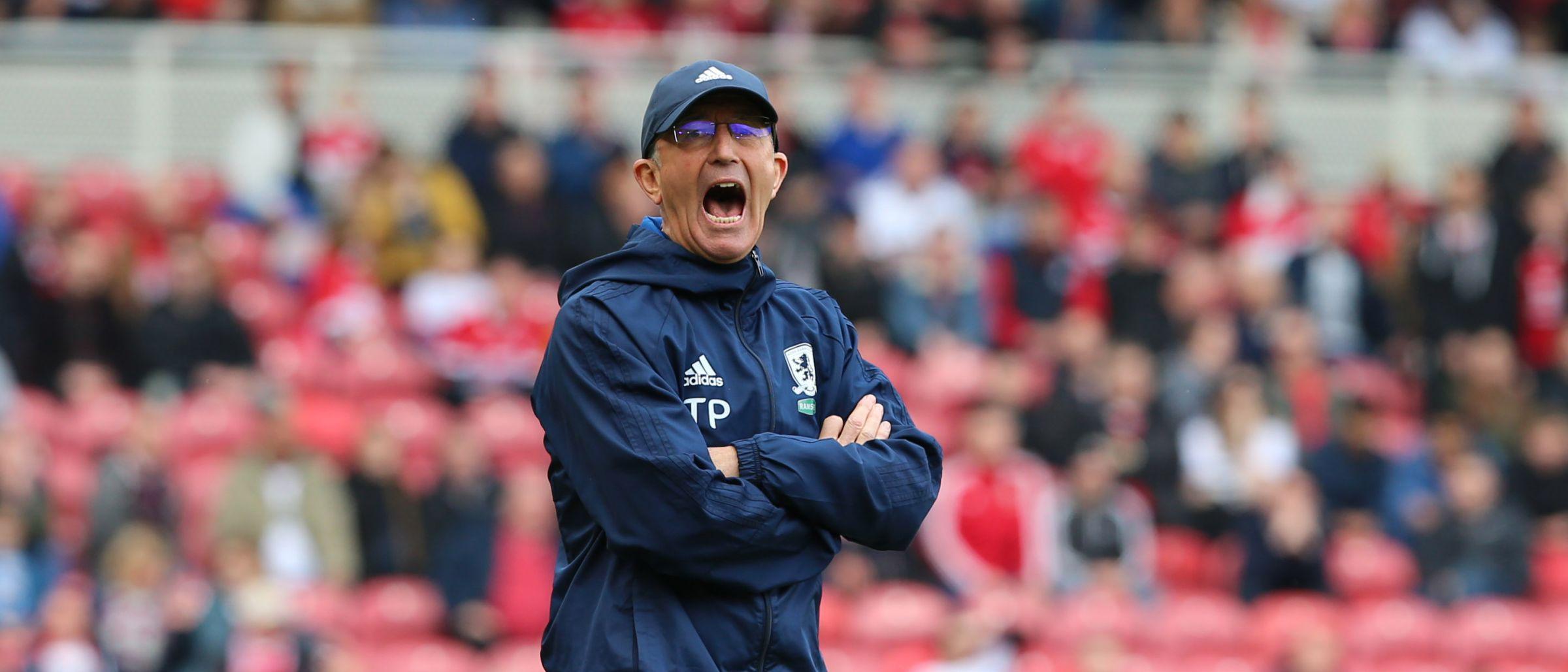 'Ipswich v Boro - Tony Pulis Pre-Match Press Conference'