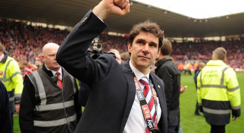 The pulling power of Aitor Karanka now in full flow