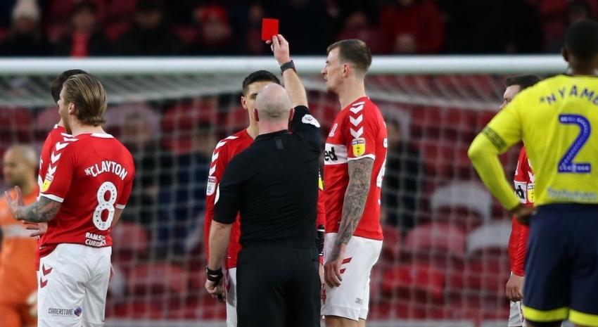 Pulis blasts officials for Besic red card as Boro held by Blackburn