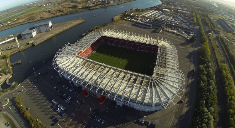 Boro give fans the chance to rename the Riverside Stadium for one game