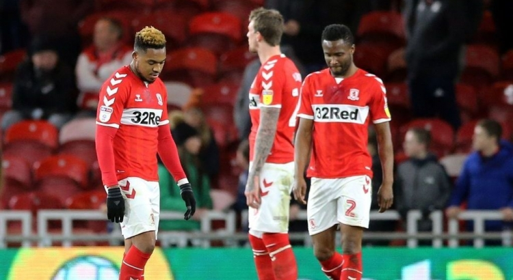 Controversial Ayala red card stunts Boro's promotion push